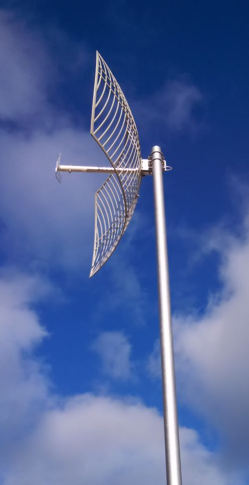 24dbi Wifi 2400mhz Parabolic Dish Antenna