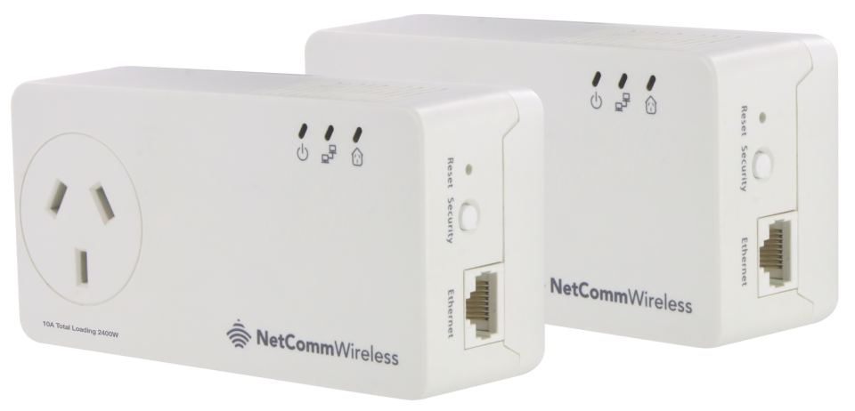 foxtel netcomm powerline adapter instructions