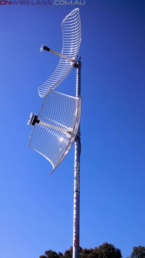 24dBi 4G MIMO 2300MHz Parabolic Dish Antenna