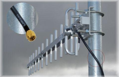 16dbi 850mhz 3g Yagi Antenna