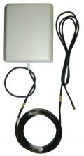 8dBi 806-2600MHz 3G 3G+ 4G LTE WiMax Wifi Panel Antenna for HSUPA/HSPA+ Wireless Broadband FME