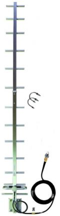 16dBi 850/900MHz 3G/4G Yagi Antenna for Mobile Broadband