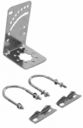 x-pol slant-pol bracket for lpda 4g antenna