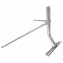 TWIN LEG TIN ROOF MOUNT MAST