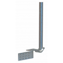 Gutter antenna mount 42mm x 580mm